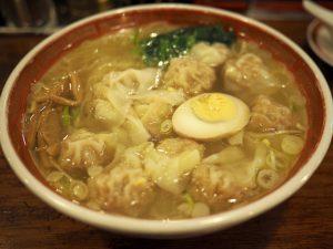 五反田の広州市場はワンタン麺が人気のラーメン屋