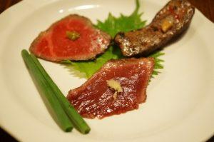 レトロ感漂う日南は、五反田で美味しい牛肉が食べられる