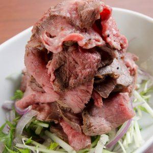 五反田の肉バルTASSOのビーフを堪能