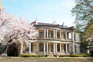 東京都指定有形文化財として知られる「旧島津公爵邸」