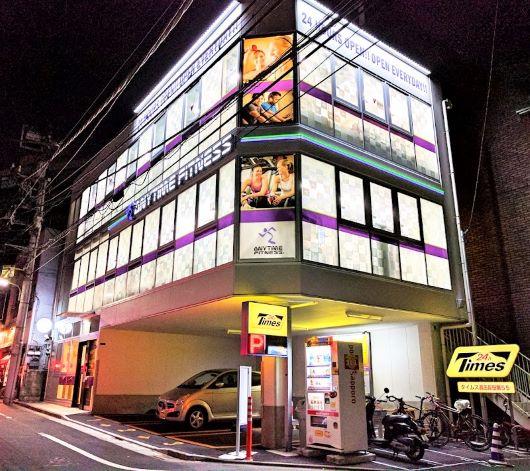アメリカNO.1のフィットネスクラブ「エニタイムフィットネス 五反田店」